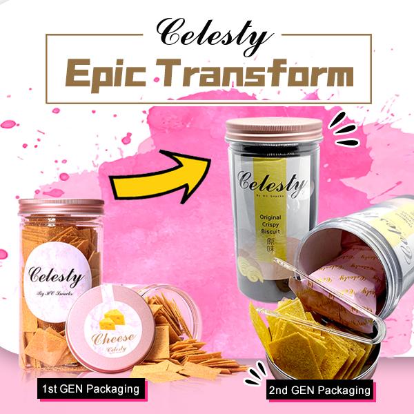 Celesty New Packaging